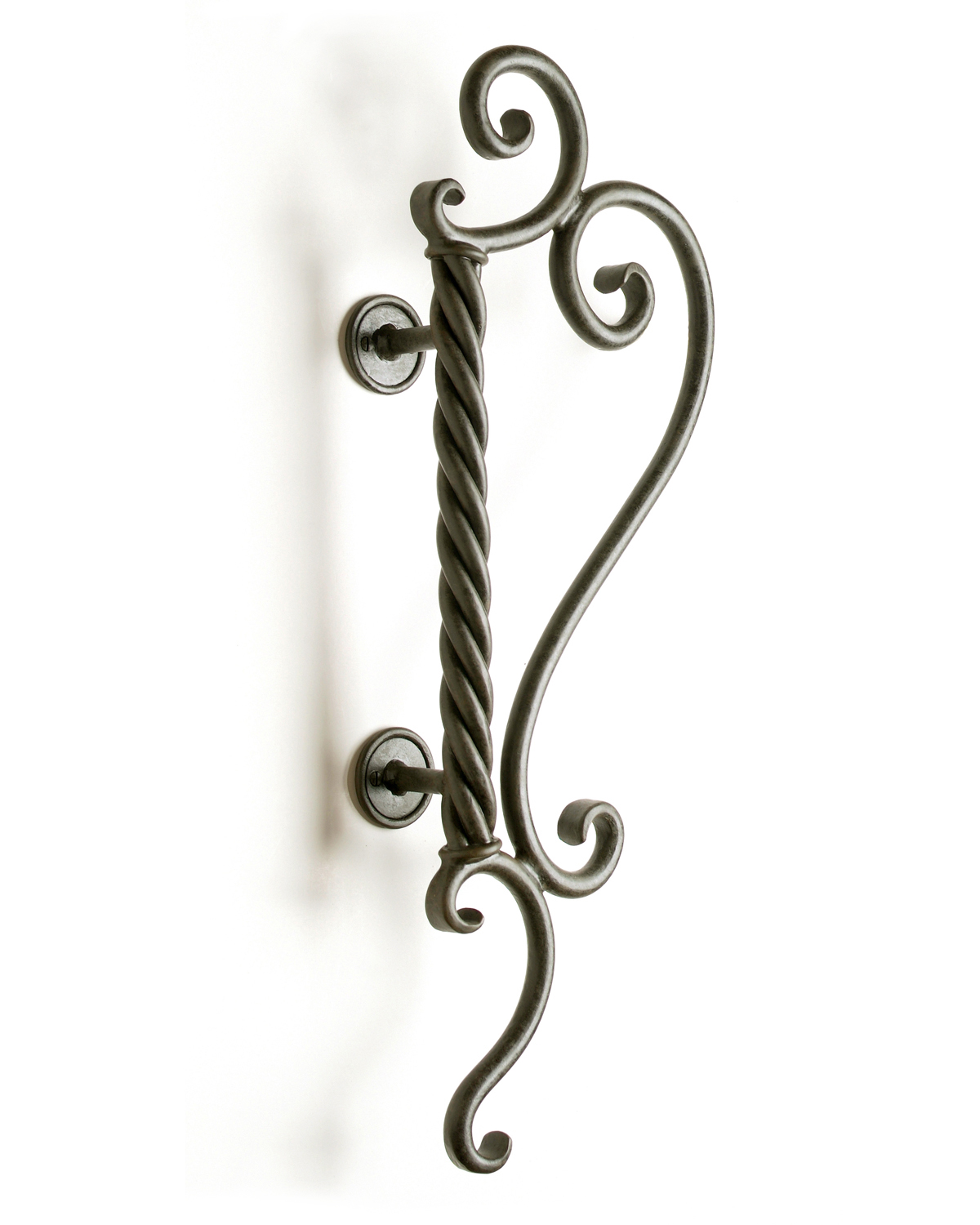 Aphrodite hand forged scrollwork