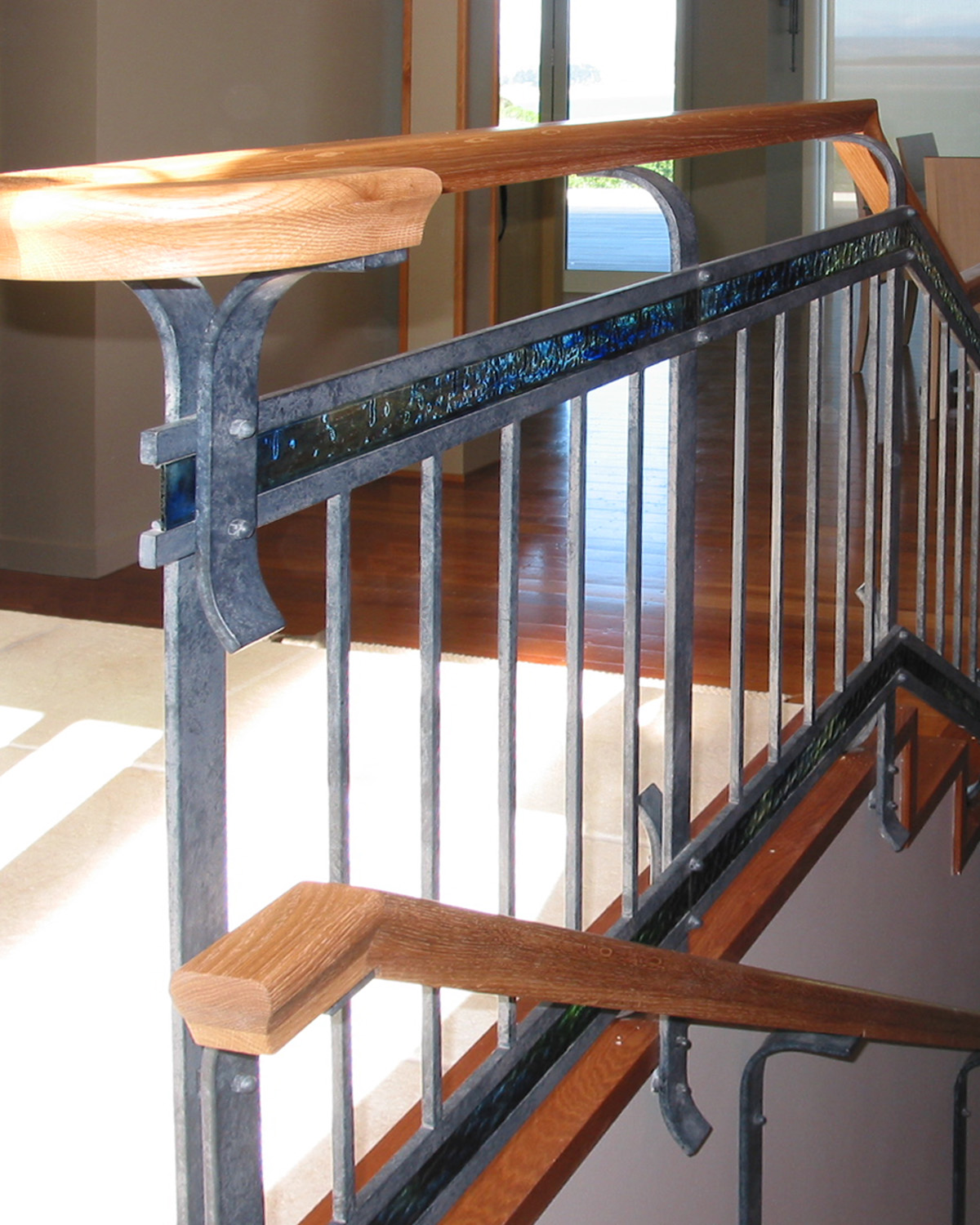 Coloured Glass Balustrades
