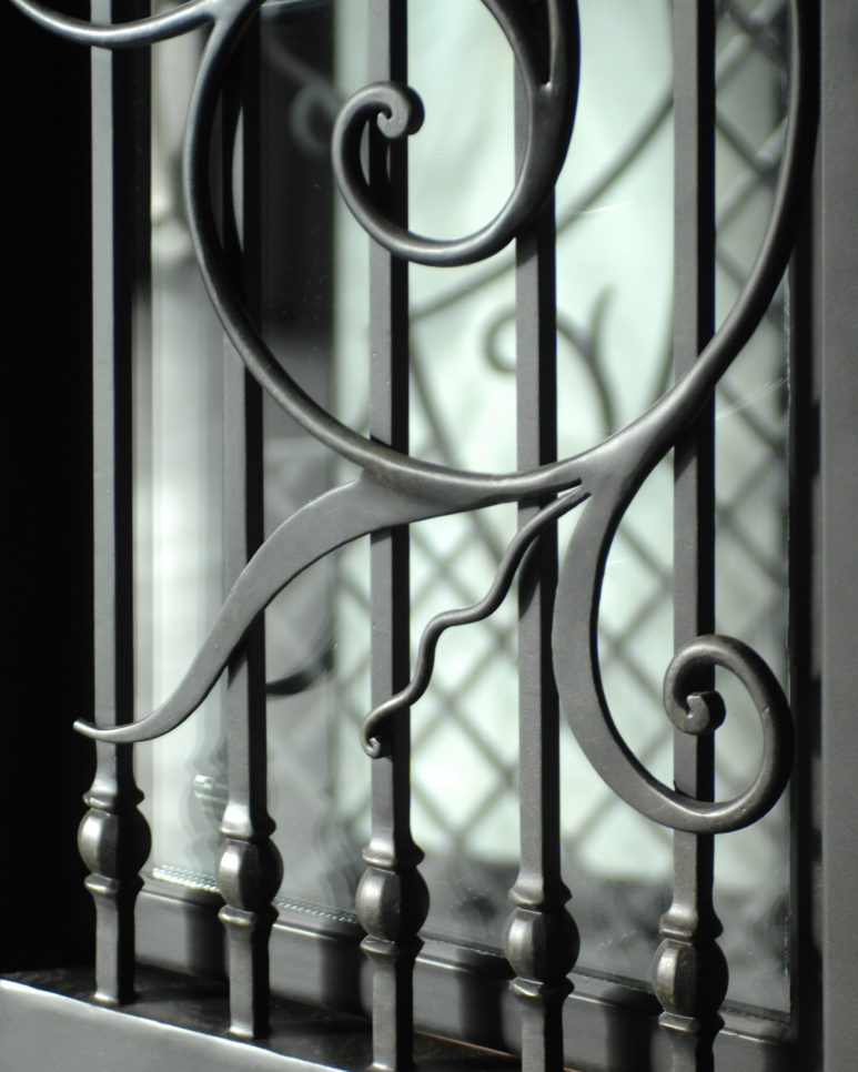 Custom entrance doors, handcrafted wrought iron doors from Tasman Forge