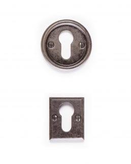 Euro Escutcheons - custom forged wrought iron