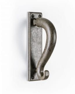 Hand forged steel tapered Door Knocker